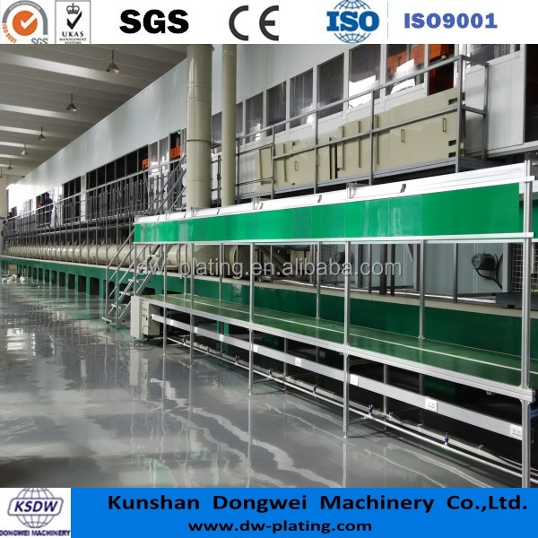 Plastic chrome plating equipment ABS electroplating machine auto parts plating machine
