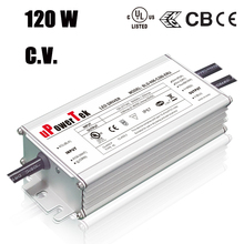 120W 12V 24V 48V outdoor waterproof constant voltage non-dimmable power supply for LED strip light
