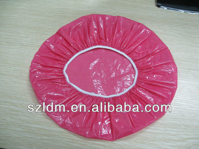 popular pink shower cap