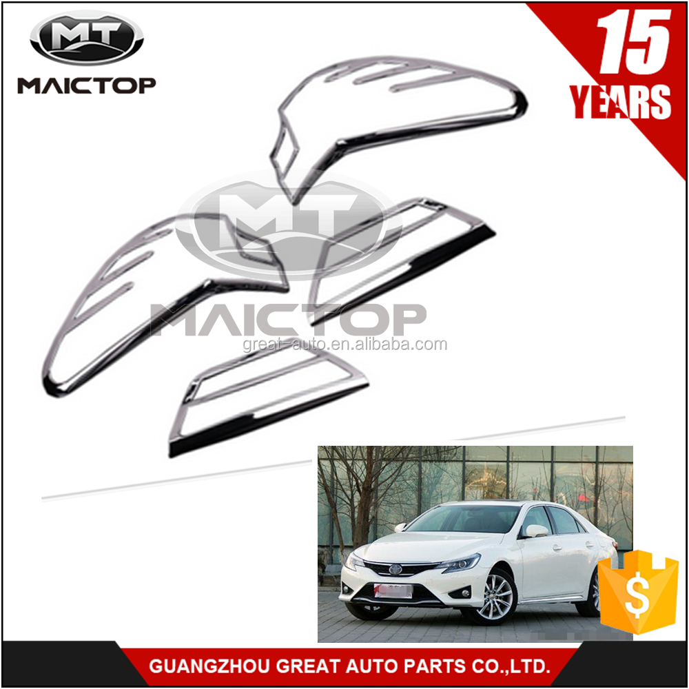 Auto Parts Chrome Garnish Tail Lamp Cover Taillight Cover for Toyota REIZ