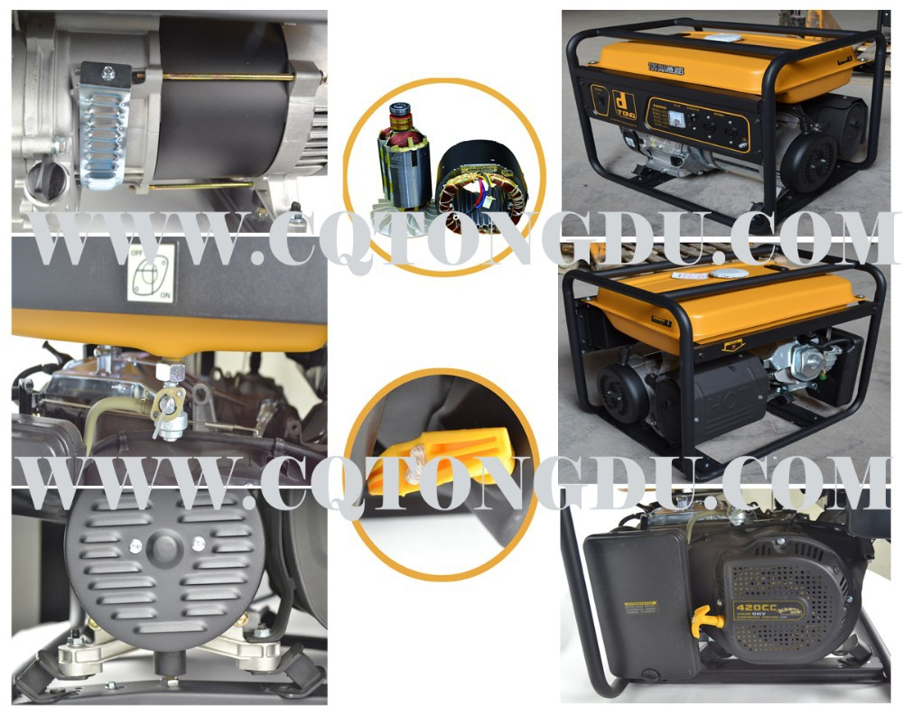 Trif sico 380 v arranque el ctrico 5kva honda generador - Precios generadores electricos ...