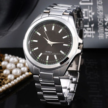 2015 vogue siliver white stainless steel watch for men alibaba express