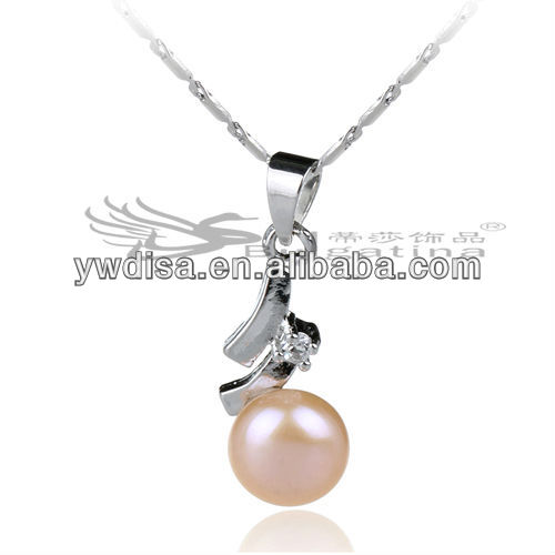necklace Design With Copper Charms Vintage Pearl Pendant