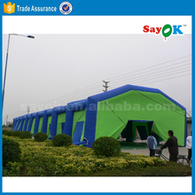 large outdoor inflatable building military tent balloon tent
