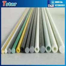 High strength fiberglass pipe stake, fiberglass ground tube