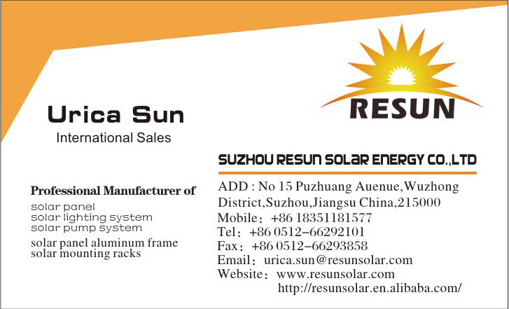 Quality and high efficiency chinese sollar panel