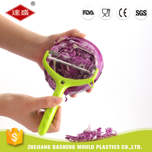 Multifunction kitchen accessories tools plastic manual y cabbage julienne vegetable peeler