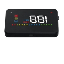 "Wiiyii 3.5"" Car HUD OBD2 Interface Head Up Display Plug & Play Smart Speedometer 2017 New Auto Electronic"
