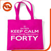 Sell colored logo printed cotton tote bag /cotton shopping bag with strap