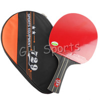 RITC 729 Friendship 2-STAR (2STAR, 2 STAR) Pips-In Table Tennis Racket with Case for PingPong