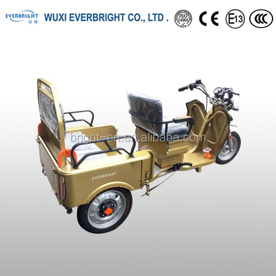 eec certified adult folding electric Recreational vehicle small tricycle scooter