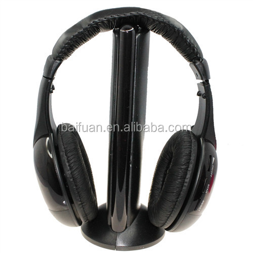 5 in 1 wireless monitor am fm radio headphone