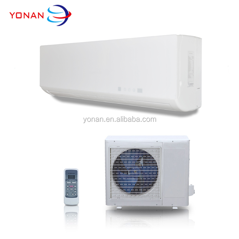 R22 Gas 220V 50Hz Cooling And Heating Yonan Wall Air Conditioner 9000 Btu