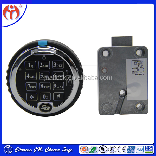Lock smith Good quality Sargent Automatic Safe lock SG 1007 For Security Safe Box/ gun safe/ATM /Vaults Door/