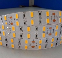 Promotion!!! DC24V 5630 SMD 5M 16FT 600LED LED flexible strip;non-waterproof;IP33;45-50LM/LED;double row
