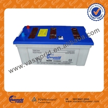 hot sale high quality n200 12v 200ah car battery jis standard dry charged automotive battery auto battery