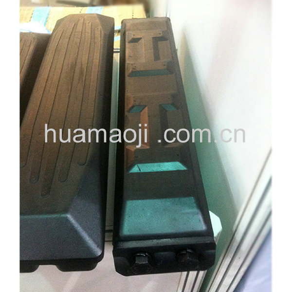 Factory Directly r55-7 mini excavator track rubber pads for sale wholesales