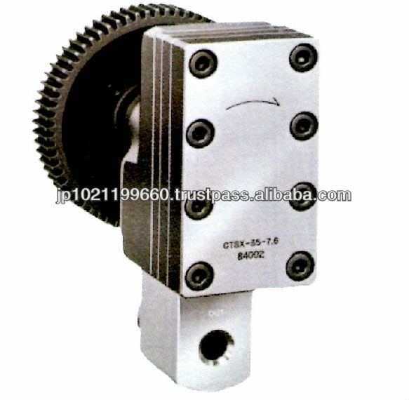 Precision Gear Pump for medicines and drugs production machinery parts Made in Japan