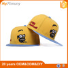 lovely Customized snapback hats with cute Embroidery in front panel