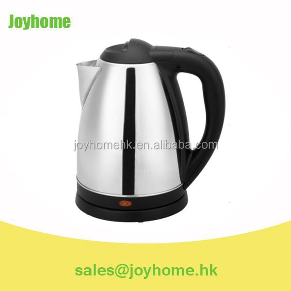 SAA APPROVAL SUS304 STAINLESS STEEL CORDLESS ELECTRIC KETTLE