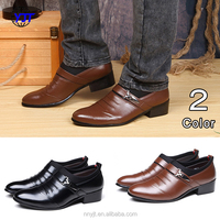 2018 Men's New Design Dress Formal Leather Man Shoe Slip-on Shoes Men Cheap