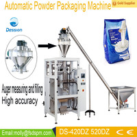 VFFS automatic powder food packing machine (PLC control) DS-420DZ