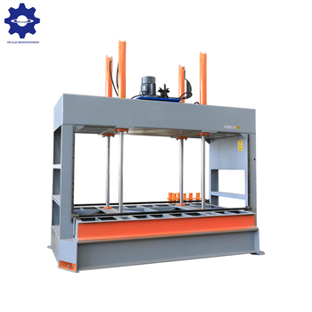 Woodworking veneer hot press hydraulic press machine for door panel