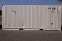 Cargo international shipping refrigerated storage container for van and truck