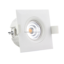 wholesale indoor square 9W led downlight fireproof material IP44 with 5years warranty