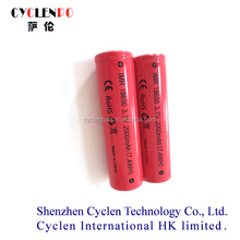 Factory Battery li-ion 18650 2000 3.7v Li-ion/mechanical Mod High Drain Imr 18650 2000 Rechargeable Battery 1865 Cylindrical
