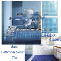 Building Tiles for blue bathroom ceramic mosaic