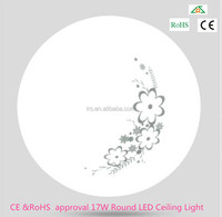 CE &RoHS approval 17W Round LED Ceiling Light
