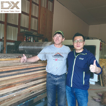 Radio Frequency Vacuum dry machine for sawmill