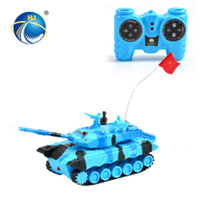 exquisite ornaments 8CH miniature LED tank rc tracked vehicle with music