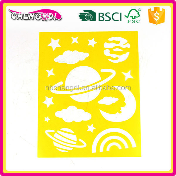 SUPER STYLE newest fashion decorating DIY painting stencil