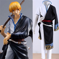 Japanese GINTAMA kimono cosplay costumes for men