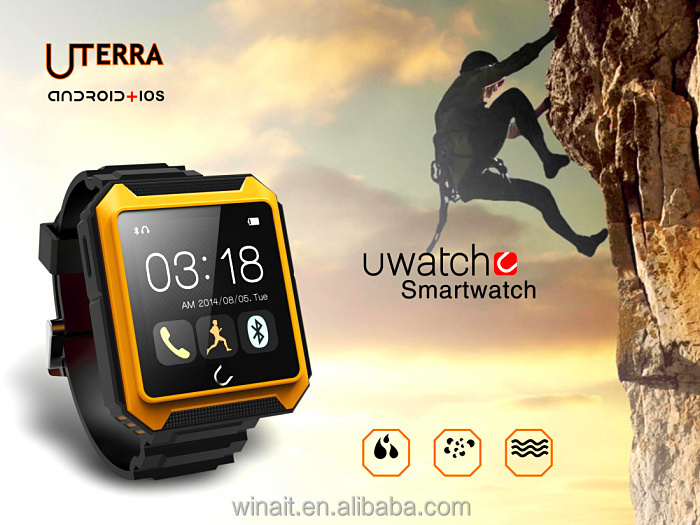 IP68 waterproof watch smart watch <strong>U2</strong> for outdoor sports