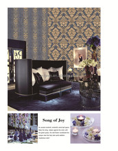 Loren 1.06m wide pvc wallpaper for home decoration (AL2013AL2020)