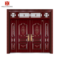 2017 latest designs exterior main double door gate