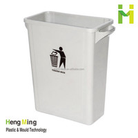 65L Plastic Trash Can garbage can without lid for Sale