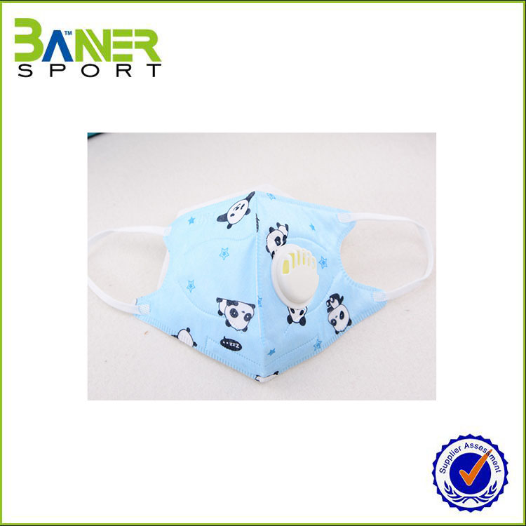 2017 High quality children face mask&Anti pollution mask with valve for child