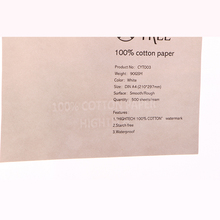 0024 highquality 90gms 100% cotton thread line waterproof security bank paper
