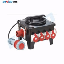 KG18087 Outdoor IP67 24 ways Electrical Mobile Waterproof Socket Distribution Box