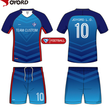 China custom wholesale plain sublimation polyester football jersey guangzhou factory