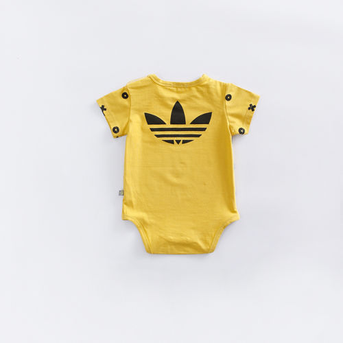 Summer wear cute babys pure Combed cotton short sleeve Infant Romper Jumpsuit