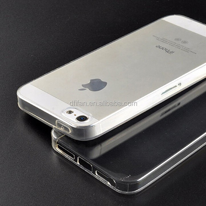 Mobile phone accessories case for iphone 5s ,ultra thin transparent clear cover case for iphone 5