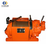 1 ton mining pneumatic small mechanical air winch