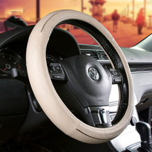Low price guaranteed quality hand wrapped leather steering wheels for sale