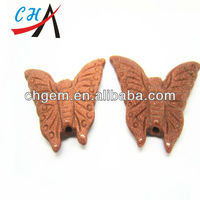 Fashion gemstone batterfly carving crafts,stone craving crafts for wholesale