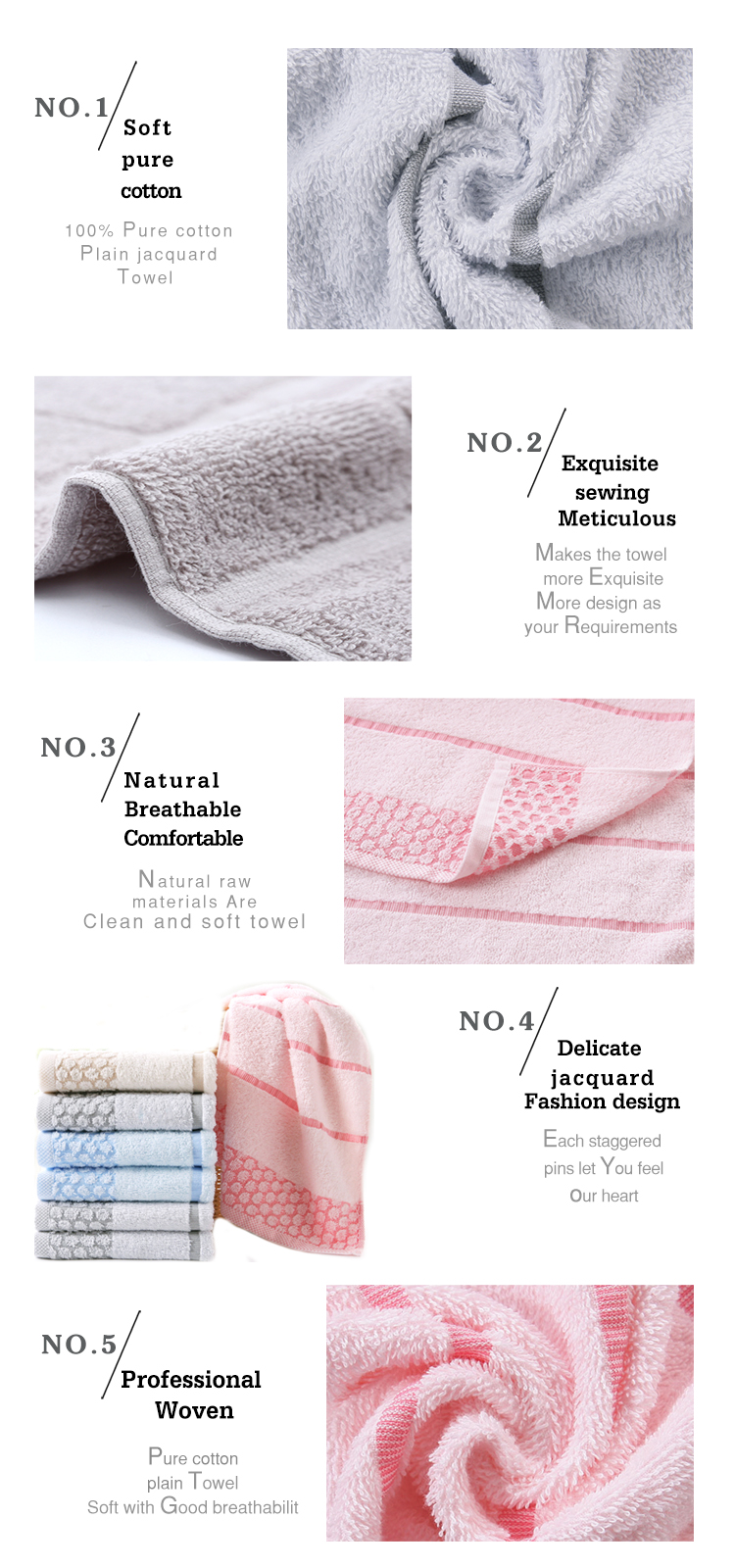 Wholesale cheap towel supplier 100% cotton baby wrap bath towel set